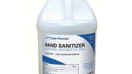 Cole-Parmer Hand Sanitizer 80% Alcohol