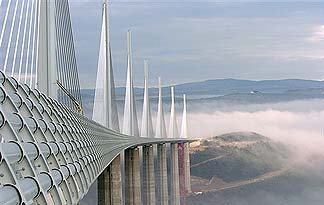 Millau Viaduct in France