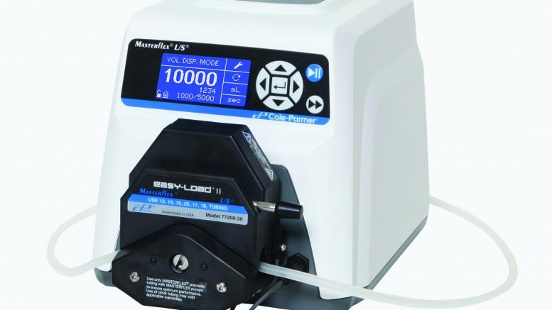 masterflex-peristaltic-pump-with-integrated-open-head-sensor-interlock