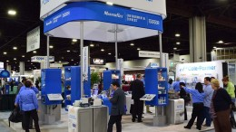 Cole-Parmer tradeshow booth at Pittcon
