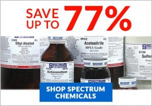 Spectrum Chemicals on Sale