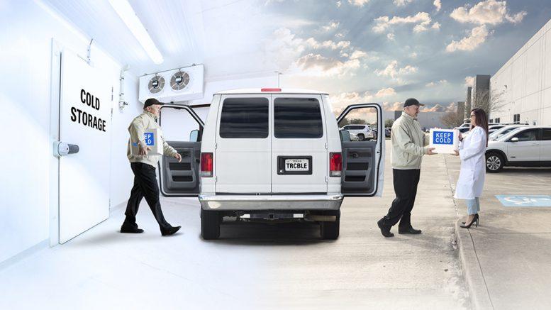 Van Sample Cold Storage and Transportation