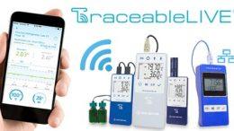 WiFi USB Traceable temperature data loggers